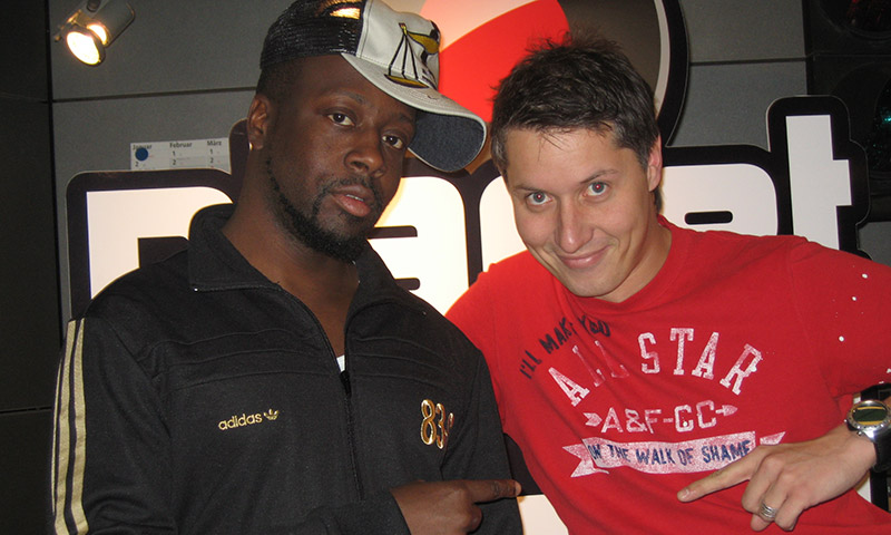 Planet Radio Megastar Wyclef Jean Radio Tele FFH Morningshow Carnival Interview