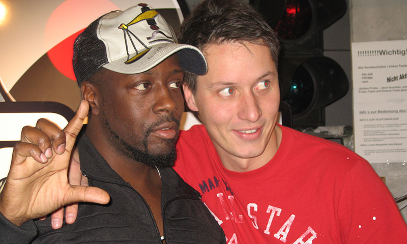 USA Wyclef Jean Performer Artist The Carnival Music Planet Radio Interview Stefan Frech Morningshow Tele FFH